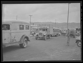 Cooperative bus run by workmen at Oregon Shipyards
