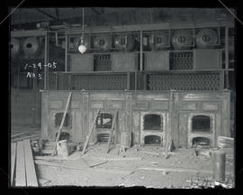 Station E, boilers and furnaces
