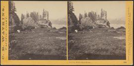 """The Cut, Middle Block House."" (Stereograph 1262)"
