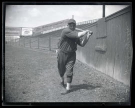 Hack Miller, baseball player, possibly for Oakland