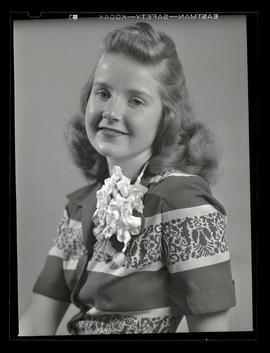 1942 Portland Rose Festival Princess Janis Korlann, Grant High School