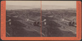"""Mt. Hood from the Dalles, Columbia River, Or."" (Stereograph E24)"