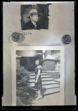 Photographs of man and woman