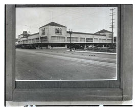 Photograph of Grand Central Public Market building, Southeast Morrison Street, Portland