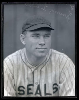 Jimmy Zinn, baseball player for Seals