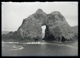 View of Double-Pointed Rock