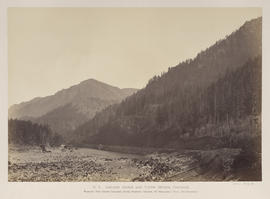"""O.8. Cascade Range and Tooth Bridge, Cascades."""