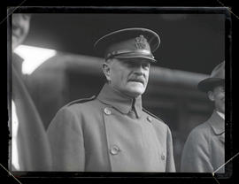 General John J. Pershing at Union Station, Portland