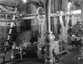 SS Clauseus, engine room