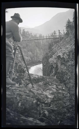 Photographing near Mount Rainier