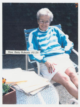 Oral history interview with Betty Roberts [Image]