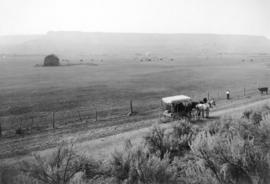 M. R. Biggs stock ranch near Prineville, Oregon, 1911