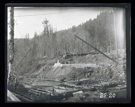 Bull Run, Big Sandy dam construction