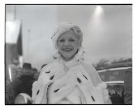 Marie Dawson, queen of 1933 Portland Winter Sports Carnival