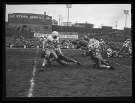 Football game between Oregon State College and University of Washington
