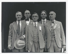 Attendees at convention of 1929 Pacific Coast Building Officials Conference