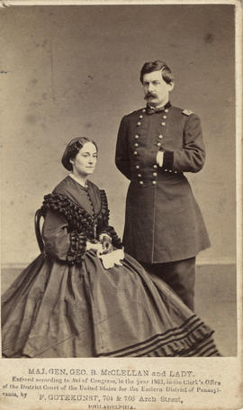 McClellan, General George B. and Mary Ellen (Marcy)