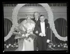 Wedding of Joseph K. Carson and Myrtle Cradick