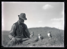 Bohlman with Burrowing Owls
