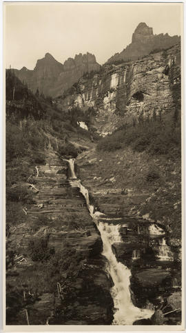 Golden Stair Falls, Glacier National Park