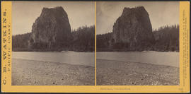 """Castle Rock, Columbia River."" (Stereograph 1243)"