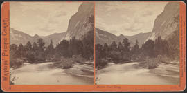 """Mount Starr King, Yosemite Valley, Mariposa County, Cal."" (Stereograph 1116)"