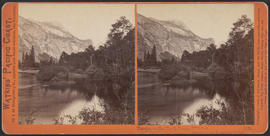 """Tacoye, or the North Dome, 3730 feet, Yosemite Valley, Mariposa County, Cal."" (Stereog..."