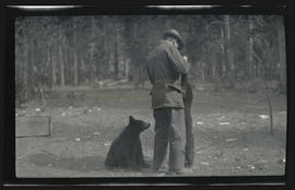 Bruce Horsfall with brown bears