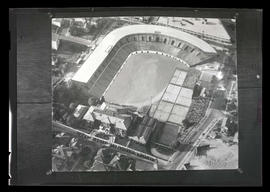 Aerial photograph of Multnomah Civic Stadium