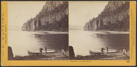 """Cape Horn, Columbia River."" (Stereograph 1231)"