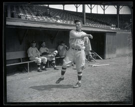 Elmer Phillip, baseball player for Los Angeles