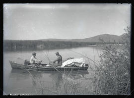 H. T. Bohlman and W. L. Finley in Row Boat
