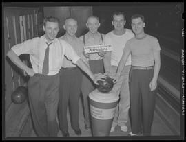 Albina Engine & Machine Works, machinist bowling team