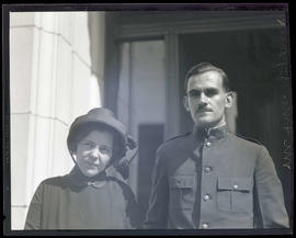 Salvation Army Captain and Mrs. Frank L. Jeffries