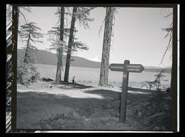 Timothy Lake, recreation sign