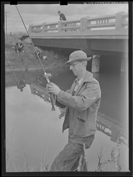 Fisherman at season opening