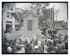 Unveiling of David Campbell memorial, Portland
