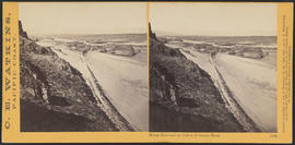 """Mount Hood and the Dalles, Columbia River."" (Stereograph 1324)"