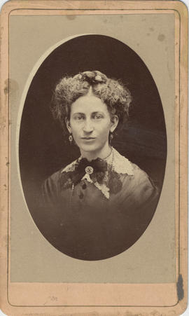 Unidentified (mislabeled as Mrs. David Logan)