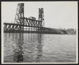 Train on Steel Bridge, Vanport Flood