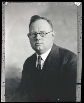 Photograph of Reverend C. A. Hadley