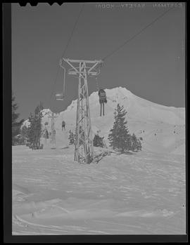 Chair lift at Timberline Lodge