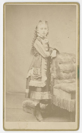 Amasa Plummer Flaglor portrait of an unidentified girl