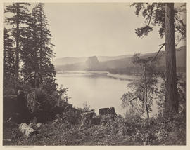 """Distant View of Castle Rock. Columbia River"" (Mammoth 426)"
