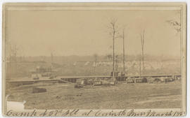 Military camp at Corinth, Mississippi