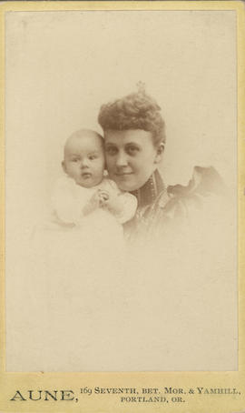 Laidlaw, Charlotte Coad (Stout) and Charlotte Louise Plowden (infant)