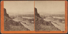 """Mount Hood, from the Head of the Dalles."" (Stereograph 1322)"