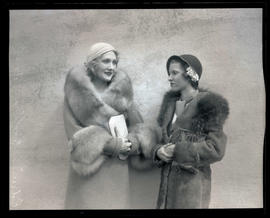 Actress Edwina Booth and Dorothy Ford