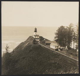 Gun battery at Cape Disappointment Lighthouse, Washington