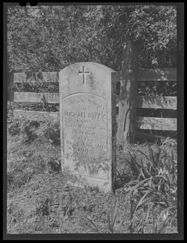 Gravestone at Cape Blanco